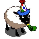 FarmVille Cupcake Co-Op job rewards with Party Sheep