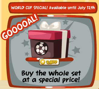 Pet Society World Cup Bundle Special