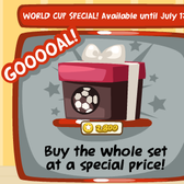 Pet Society scores a goal with its new World Cup Bundle