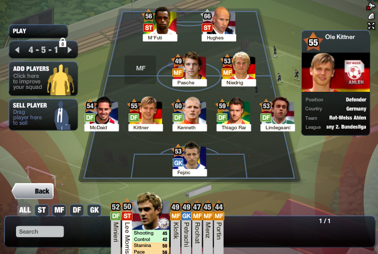 fifa superstars manage