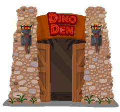 happy pets dino den