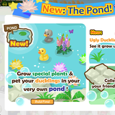 Country Story releases new buildable pond and Ugly Duckling