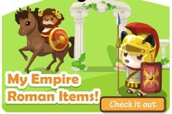 My Empire Roman Themed Country Story Items