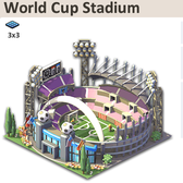 Social City: Host your own World Cup with a Limited Edition stadium