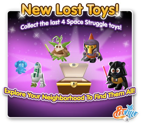 PetVille Space Struggle toys