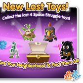 PetVille releases final four Space Struggle lost toys