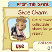 Tiki Resort: Free Shoe Charm has fans asking 