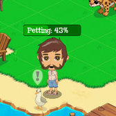 Treasure Isle: Pet your animals in return for coins