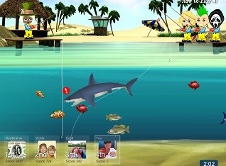 YoVille Fishing