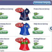 GOOOAAALLLL! YoVille World Cup fever arrives!