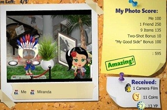YoVille Take Photos