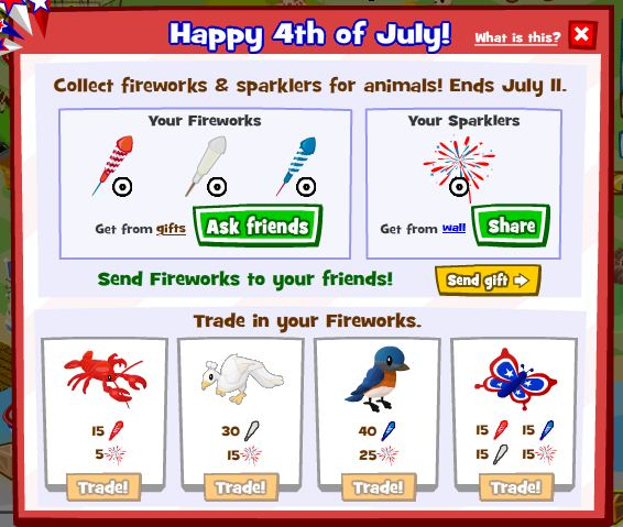 Zoo World 4th of July