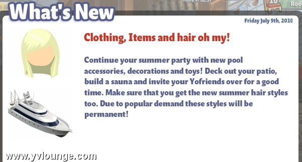 yoville summer hair
