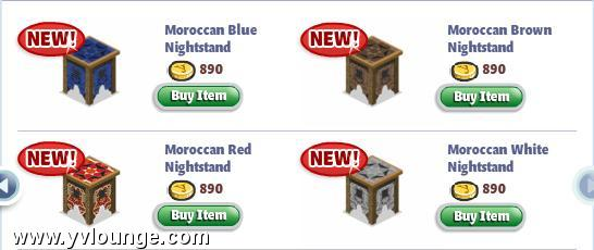 yoville moroccan bedroom furniture