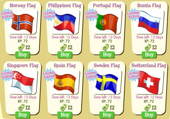treasure isle fourth of july flags