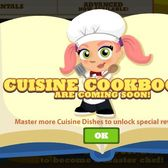 Cafe World Cuisine Cookbooks 'coming soon'