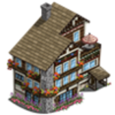 FarmVille Limited Edition Swiss Buildings: Swiss Manor &