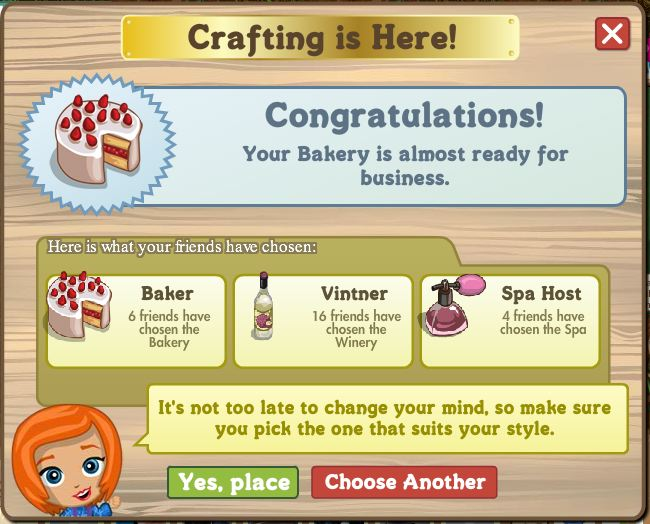 bakery crafting