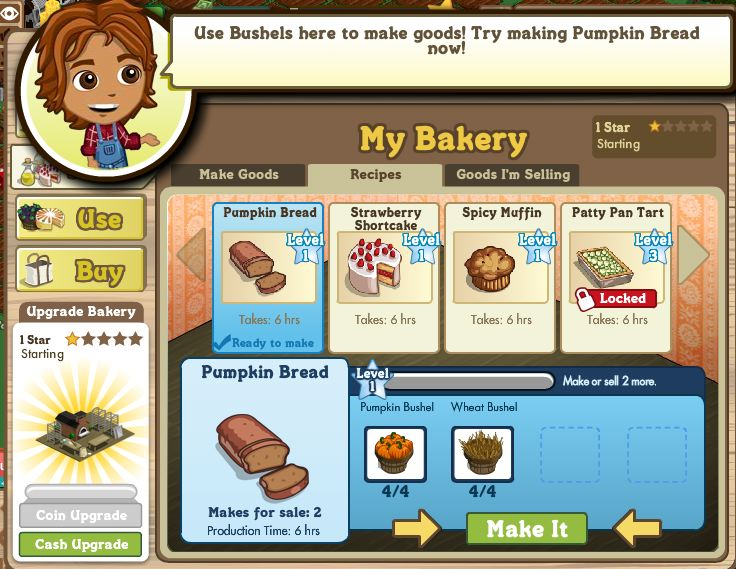 farmville bakery inside