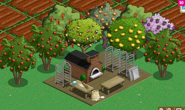 farmville bakery crafting building level 1