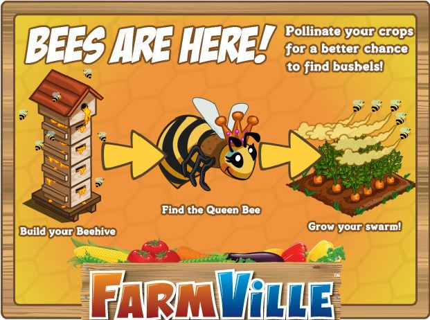 farmville bees here