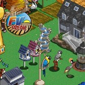 FarmVille Unreleased Fancy Pink Birdhouse & Fancy Blue Birdhouse