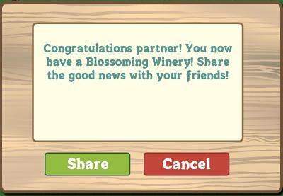 FarmVille Blossoming Winery
