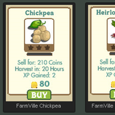 FarmVille New Permanent Crops: Chickpea Crop & Heirloom Carrot