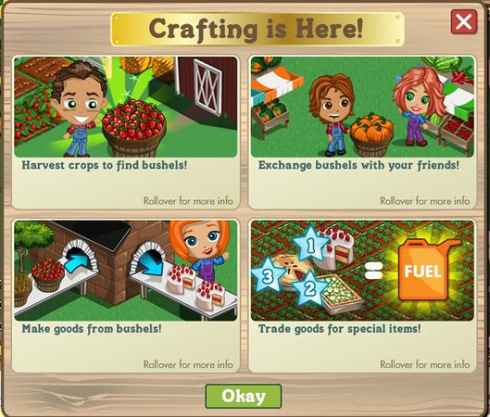 FarmVille Crafting is Here