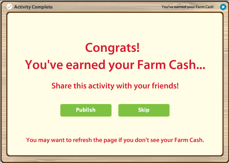 farmville free cash