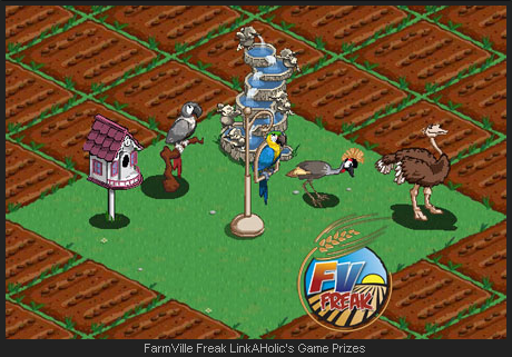 FarmVille Mystery Game Prizes - Birds