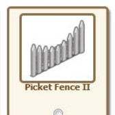 New Free FarmVille Gift: Picket Fence II