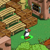 FarmVille New England Animal: Puffin