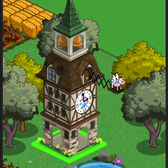 FarmVille Swiss Alps Buildings: Hotel Switzerland, Swiss Clock Shop & Swiss Tower
