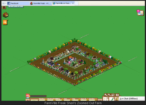 FarmVille Zoomed Out Farm