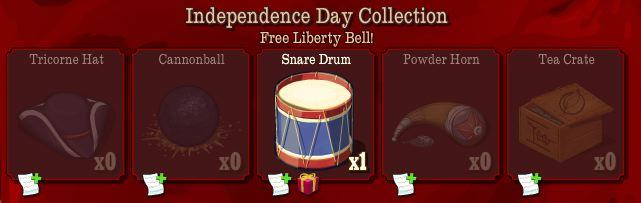 farmville independence day collection