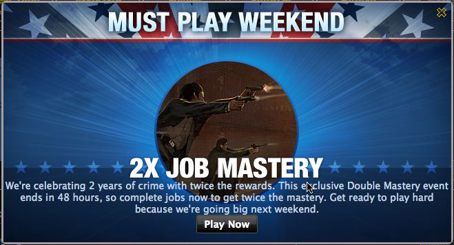 To get these bonuses, all you have to do is login to Mafia Wars on Facebook