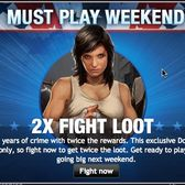 Mafia Wars Must-Play Weekend: 2x Fight Loot + 2x Job Mastery