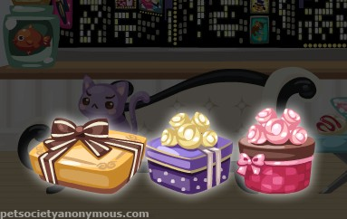 Pet Society Glow in the Dark Box