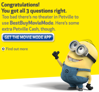 PetVille Best Buy Movie Mode - Completed
