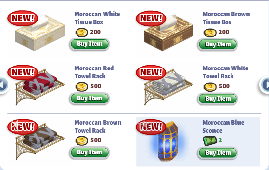 yoville moroccan bathroom furniture