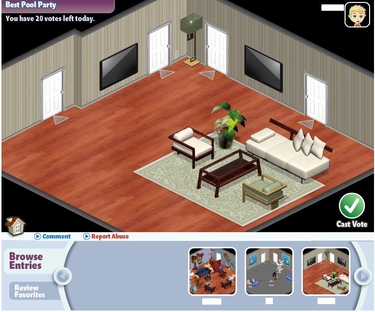 yoville room contest