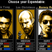 The Expendables 8-Bit Game: Pl