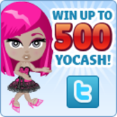 YoVille: Win up to 500 Free YoCash!