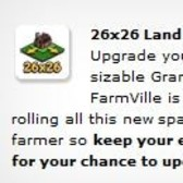 FarmVille slowly rolling out 26 x 26 farm expansion