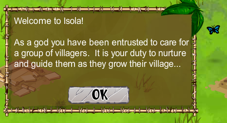 Virtual Villagers welcomes players to Isola
