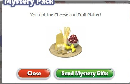 YoVille Cheese and Fruit Platter