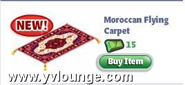 yoville moroccan flying carpet