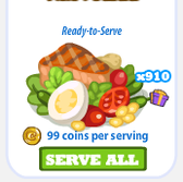 Cafe World: Get hundreds of free VIP Salads from Facegamer's gift links