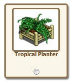 FarmVille.com Exclusive Gift Tropical Planter